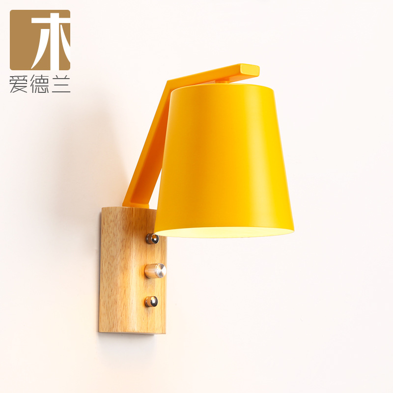 wood dragon wall lamp contracted candy color of bedroom the head of a bed children room corridor corridor lamp stairswood dragon wall lamp contracted candy color of bedroom the head of a bed children room corridor corridor lamp stairs