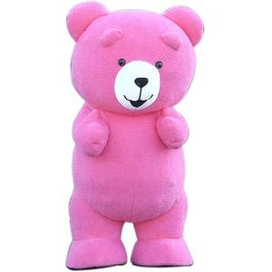 Image 4 - Urso de pelúcia traje inflável adulto gonflável nossos traje cosplay nossos en peluche mascote animal lol