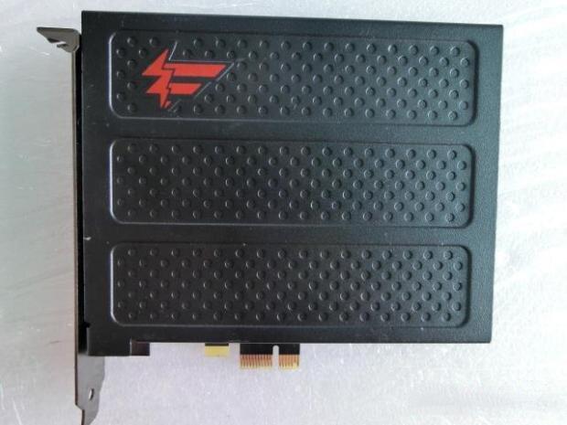 Original 7.1 x-fi SB0880 PCI-E or HIFI jeu fibre son carte musique avec bouclier