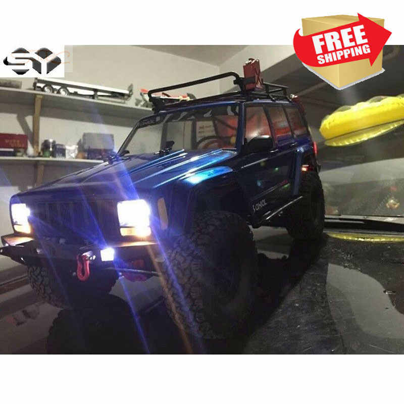 RC auto LED Light Kit voor 1:10 Axiale SCX10 II AX 90046 90047