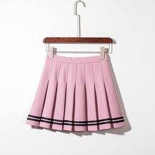 5c4c928c8 Compra pink stripe skirt y disfruta del envío gratuito en AliExpress.com