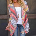 Boho Womens Cardigan Loose Sweater Outwear Knitted Jacket Coat Tops TW5351
