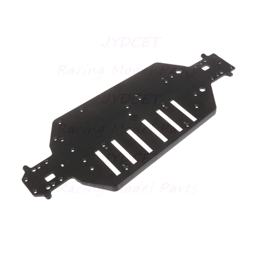 04001 HSP Parts Plastic Black Chassis Plate For 1/10 scale Off-Road Buggy Truck RC Mode R/C Car Original Parts