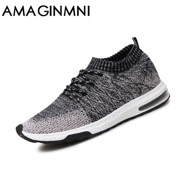 New Breathable Mesh Summer Men Casual Shoe
