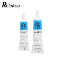 2pcs/set Fishing Reel Oil Reel Grease + Liquid Oil Lubricating Grease Set Kits Fish Instrument Utility Reel Oil