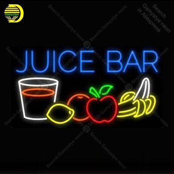 Neon Sign for Juice Bar Store Neon Bulb Sign Display Beer Light up wall sign for Room Custom nein sign Lamp Bar room Accesaries