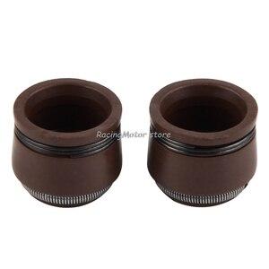 Image 3 - NICECNC 5mm Motor Ventil Stem Öl Dichtung Für Honda C70 CL70 XL70 SL70 CA175 CB175 CB450 CL90 CT90 S90 CB750 Z50A XR250R CRF230 # #