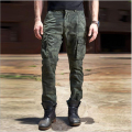 Air Force One men's 100% cotton camouflage pants multi-pockets Cargo pants casual trousers men's pilots pants Overalls Army Pant