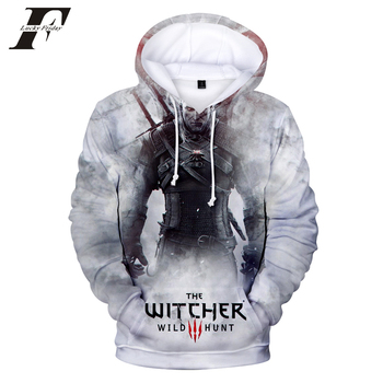 2018 hit Hot Game 3D The Witcher 3 cotton Hoodies sweatshirts Men Women Couple Sweatshirt Harajuku long sleeve Cool Pullovers