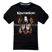 Free Shipping Kamelot T Shirt Rock Progressive Metal Tour Concert Band T Shirt