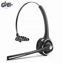 цены на Bluetooth v4.1 Phone Headset with Mic Truck Driver 15h Talk Time Stereo Headset with Noise Canceling Hands-Free for Call Center  в интернет-магазинах