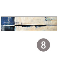Colorful Large size Abstract Poster Canvas Art Landscape Oil Painting Wall Pictures For Living Room Modern no frame