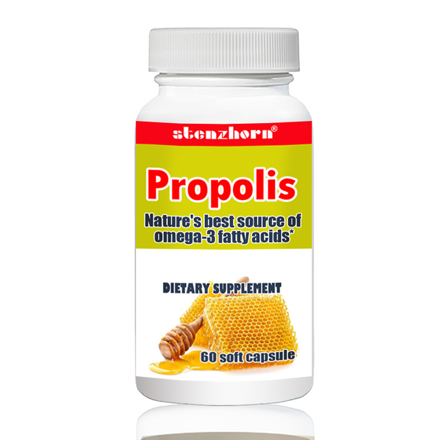 Propolis 60pcs readily absorbed and utilized by the body.