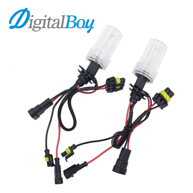 Digitalboy New 12V HID HB4 9006 Xenon Bulbs 35W Car Headlight Lamp Replacement 4300k 5000k 6000k 8000k 10000k Light Source