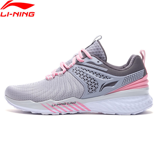 Li-Ning Women LN CLOUD 2019 V2 Cushion Running Shoes TPU Support Ultra Shell LiNing Bounce Sport Shoes Sneakers ARHP008 XYP869