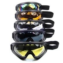 Новые очки для сноуборда, пылезащитные очки, мотоциклетные лыжные очки, линзы, оправа, очки для пейнтбола, спорта на открытом воздухе, ветрозащитные очки