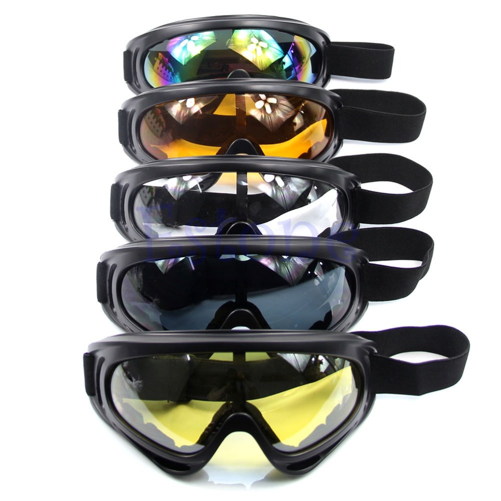 New Snowboard Dustproof Sunglasses Motorcycle Ski Goggles Lens Frame Glasses Paintball Outdoor Sports Windproof Eyewear Glasses two tone frame round lens sunglasses