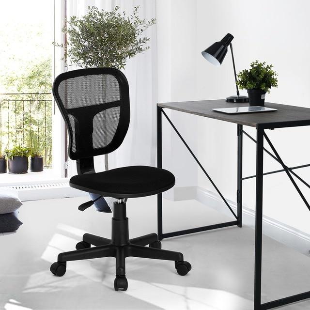 Eggree Living Room Office Computer Chair Mid Back Mesh Swivel Network Ergonomic