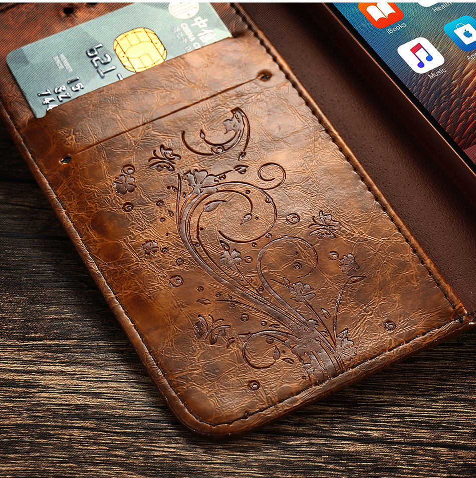 Case For iPhone 6 s 7Plus Woman Luxury Cover Flip Cases For Samsung Galaxy S6 S7 Edge (6)