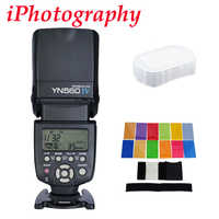 Yongnuo YN560 IV YN560IV Flash Speedlite para Canon Nikon Pentax Olympus DSLR cámaras + regalo de Kit