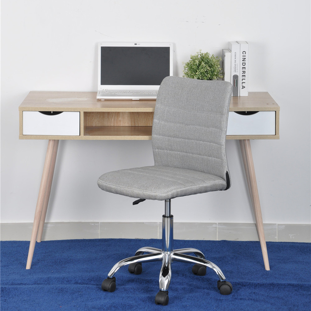 Aingoo Grey Office/Computer Chair Slap-up Gaming chair Fashion Delicate 360Degree Rotating Office Chair Computer Casual Chair