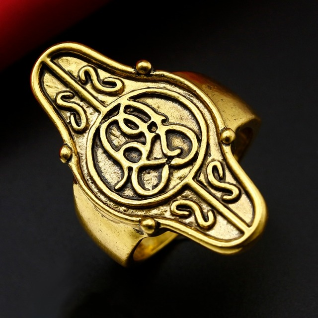 Rings For women Lord Rings Gold Goblin King Anillos Mujer