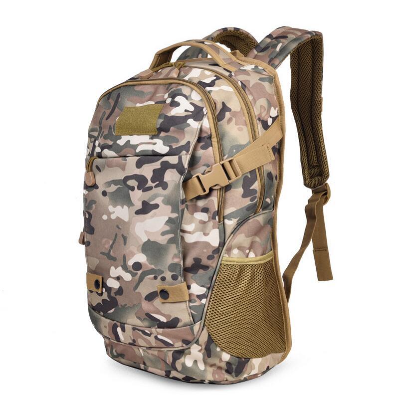Camping en plein air militaire sac à dos 50L tactique sac à dos hommes ordinateur sac sport voyage sac à dos randonnée chasse sacs à dos