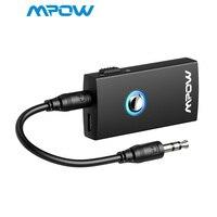 Mpow MBT3 2-In-1 Streambot беспроводной Bluetooth аудио Колонка потоковая музыка переключаемый передатчик приемник для динамика s ТВ Автомобиль