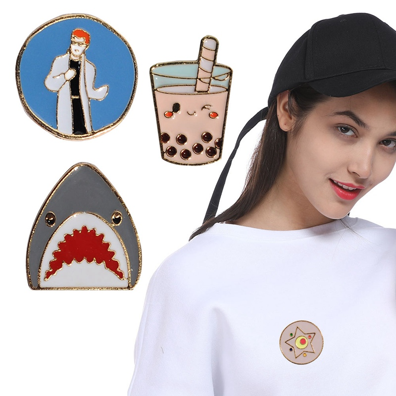 Custom Lapel Pin Brooches Star Galactic Zone Banquet Badge Pins Trendy Accessory Jacket T-Shirt Bag Hat Shoe