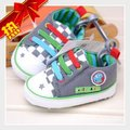 Baby Boy Shoes Toddlers Canvas Home First Walker Shoes Size 12-15 Months Enfant Shoes Fabric Infant Prewalkers  +Free Shipping