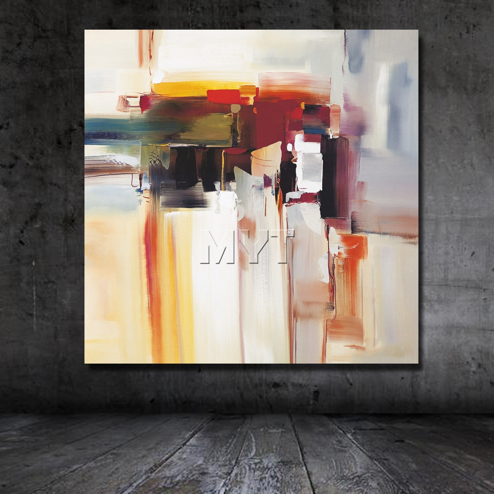 Watercolor artists names - Hand Painted Oil Painting On Canvas Modern Abstract Acrylic Paintings Living Room Wall Modern Artwork As A Gift Big Size In Painting Calligraphy From Home