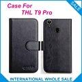 6 Colores ¡ Caliente! 2016 T9 Pro ThL Case, de alta Calidad de Cuero Exclusivo Para Cubrir ThL T9 Pro número de seguimiento