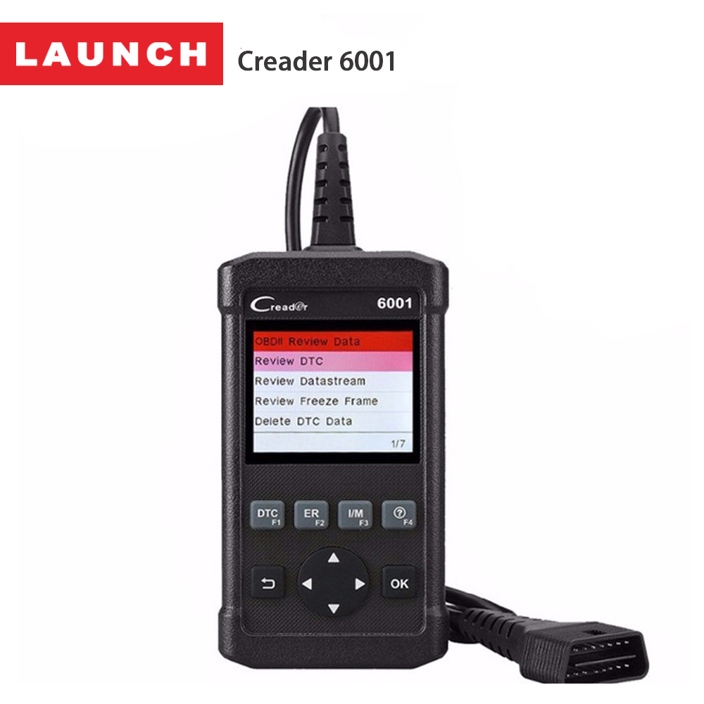 LAUNCH CReader 4001 6001 OBD2 Scanner Auto Diagnostic Scan Tool Fault Code Reader Car Diagnostics OBD 2 Universal Autoscanner one set portable car truck diagnostic scanner tool auto obd 2 kw807 fault code reader scanners with cd
