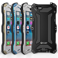 Metal Case For iPhone 6 6s 4.7 high quality Metallic Aluminum Water/Dirt/Shock proof back Cover for iPhone 6 Plus 6S Plus 5.5