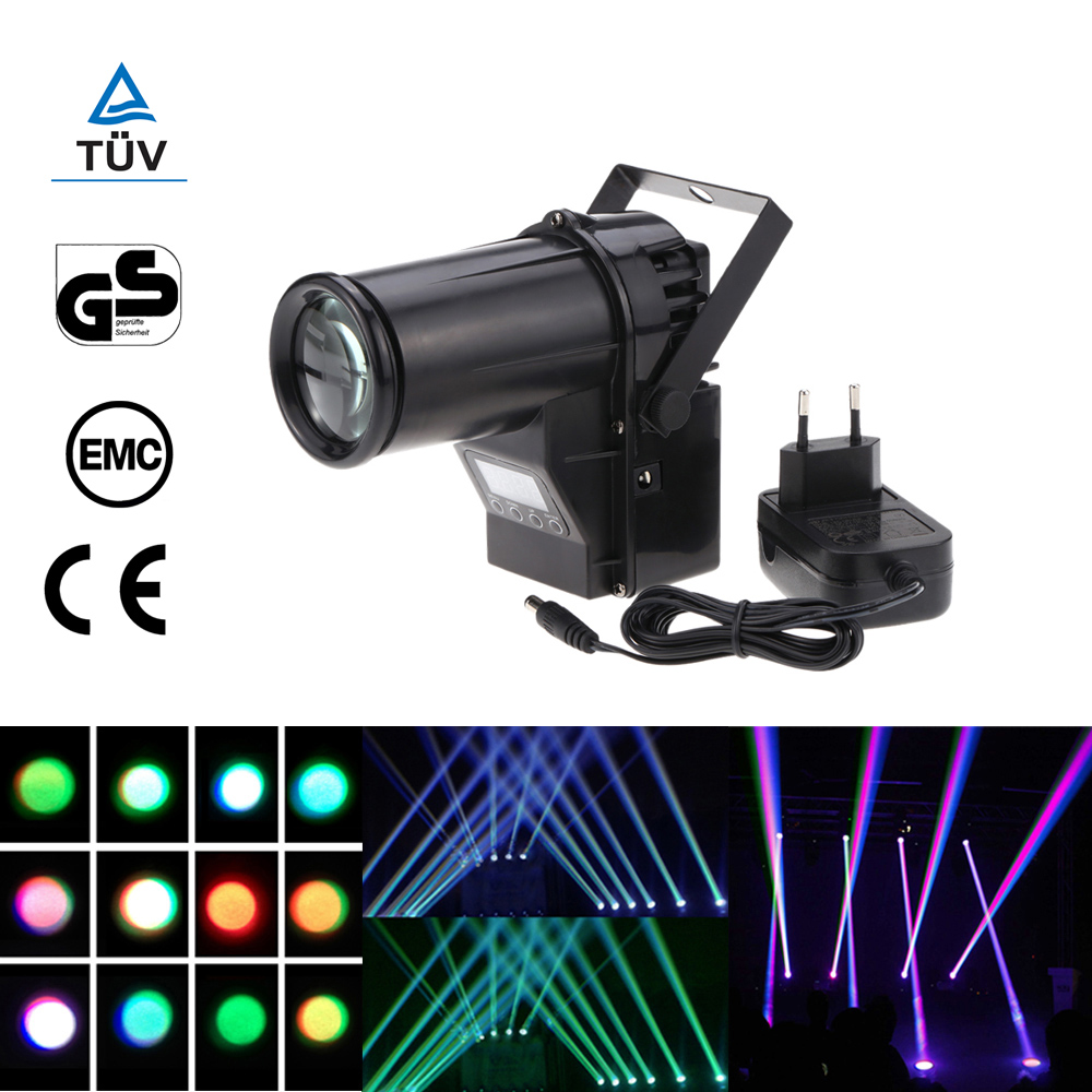 Led Spotlight Stage Light: Mini Led Stage Light Rgbw Spotlight Beam Dmx Laser