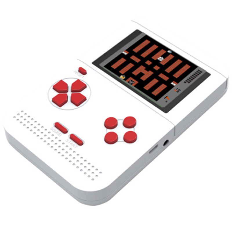 Updated RS-6 Portable Retro Mini Handheld Game Console 8 bit 2.6 inch LCD Color Colour Children Game Player Built-in 300 games 1