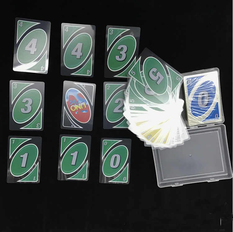 2019 новые Кристальные брендовые водонепроницаемые и устойчивые к давлению пластиковые ПВХ игральные карты настольные карты 108 карты с коробкой