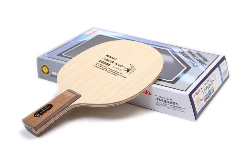 NITTAKU Ludeack Power Table Tennis Blade NE-6671 Racket Ping Pong Bat