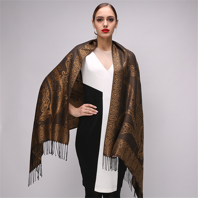 High Quality Digital Printing Women   Scarf   Brand Shawls And   Scarves   Silk   Scarf   Foulard Femme Luxury Poncho Tassels Pashmina   Wraps
