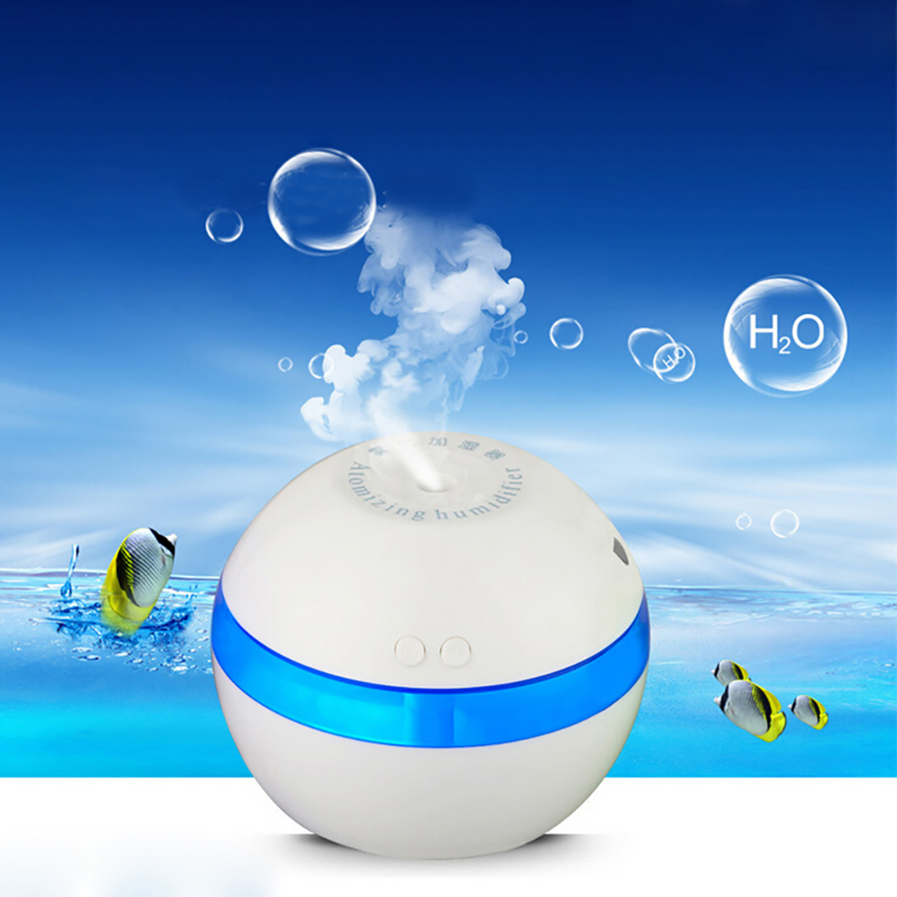 Mini USB Portable Utrasonic Air Humidifier Aromatherapy Essential Oil Aroma Diffuser Home Office SPA Mist Maker Purifier