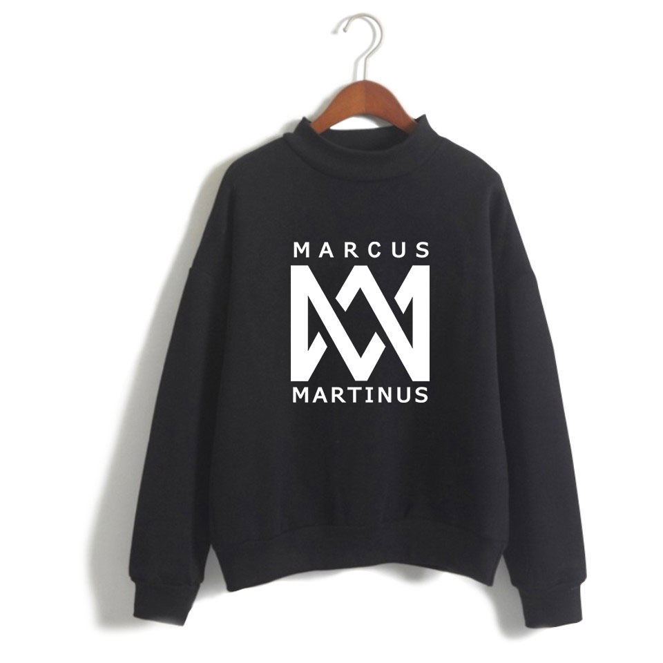 Clothes Tops KPOP Marcus And Martinus Hoodies Women Hip Hop Sweatshirt Long Sleve Cool And Fashion Pullovers Hoodie Harajuku