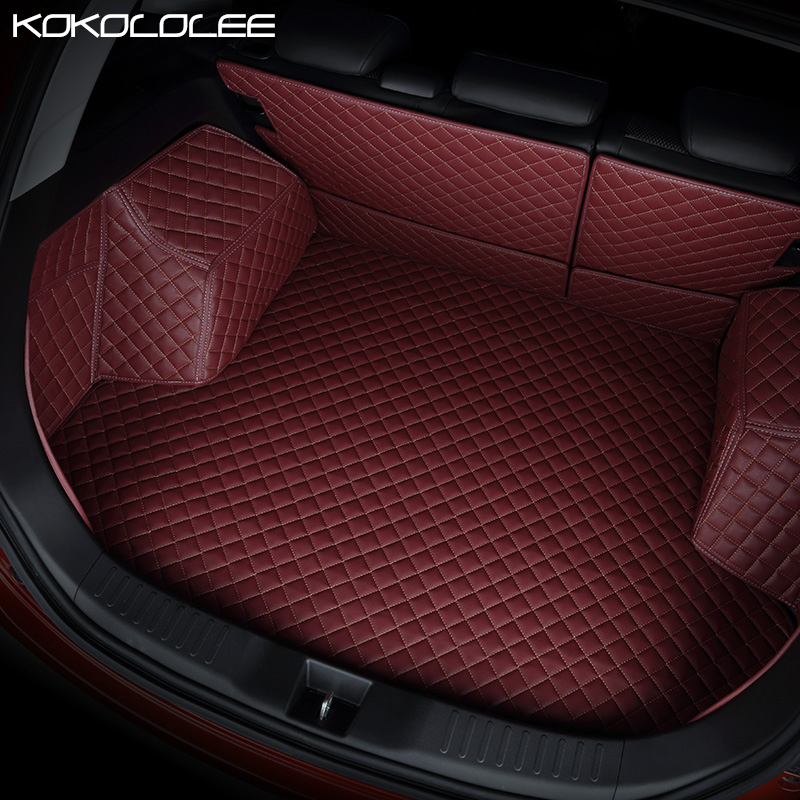 [KOKOLOLEE] custom car Trunk mats for toyota lada kalina granta priora renault logan auto accessories car-styling ceyes car styling car emblems case for lada vaz samara 2110 niva kalina priora granta largus auto caps accessories car styling