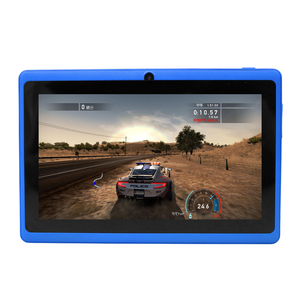 Yuntab 7 inch Q88 Allwinner A33 Quad Core 512MB 8GB Tablet Plate Android 4 4 Tablet