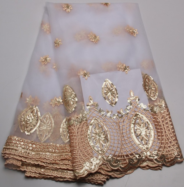 Cheap White Lace Fabric For Nigeria Clothes Soft Mesh French Lace ...