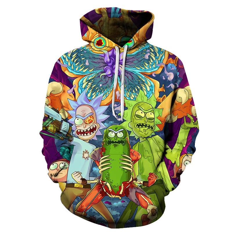 Art 3D Unisex Sweatshirt Men Brand Hoodie Casual Tracksuit Pullover Anime Hoodie 16