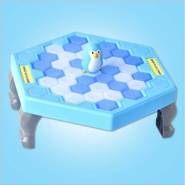 ילדים צעצועי הכה קרח פינגווין קרח בלוק ילדי הורות לוח משחק לחסוך פינגווין הורה לילד אינטראקטיבי צעצועים חינוכיים