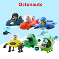 Original Genuine Octonauts dolls cute Captain Barnacles Medic Peso Bath Bathing suit Floating Pool Water kids toys