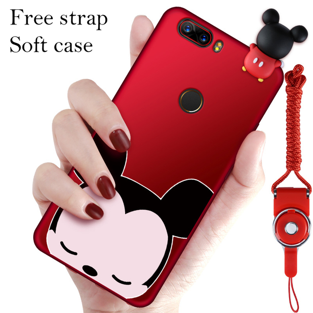 buy popular 9bc7c 0abec US $8.45 6% OFF|OnePlus 5T 3D Cartoon case Cute Mickey Minnie phone Cases  soft silicon back cover For OnePlus5T / 1+5T cartoon case-in Fitted Cases  ...