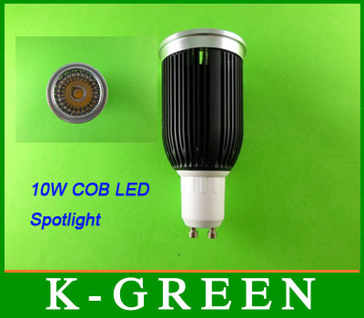 100X Super fényes, 10 W-os cob LED-es spotlámpa MR16 / GU10 / E27 / - LED Világítás