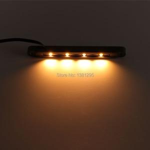 Image 3 - 12 יחידות 12 v IP65 נמוך מתח חיצוני עמיד למים LED סיפון צעד מדרגות אור חיצוני רצפת מרפסת תאורת קיר תמך מנורה